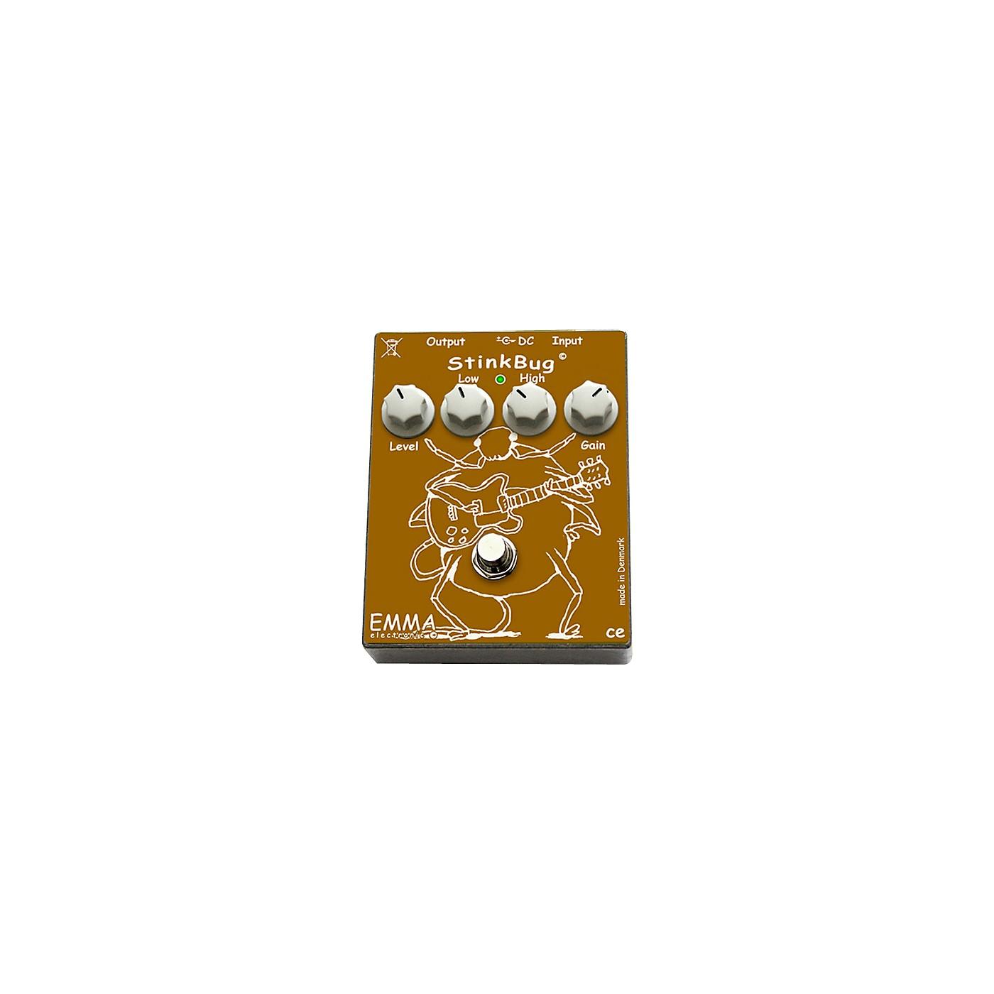 Emma Electronic StinkBug Classic Overdrive Guitar Effects Pedal thumbnail
