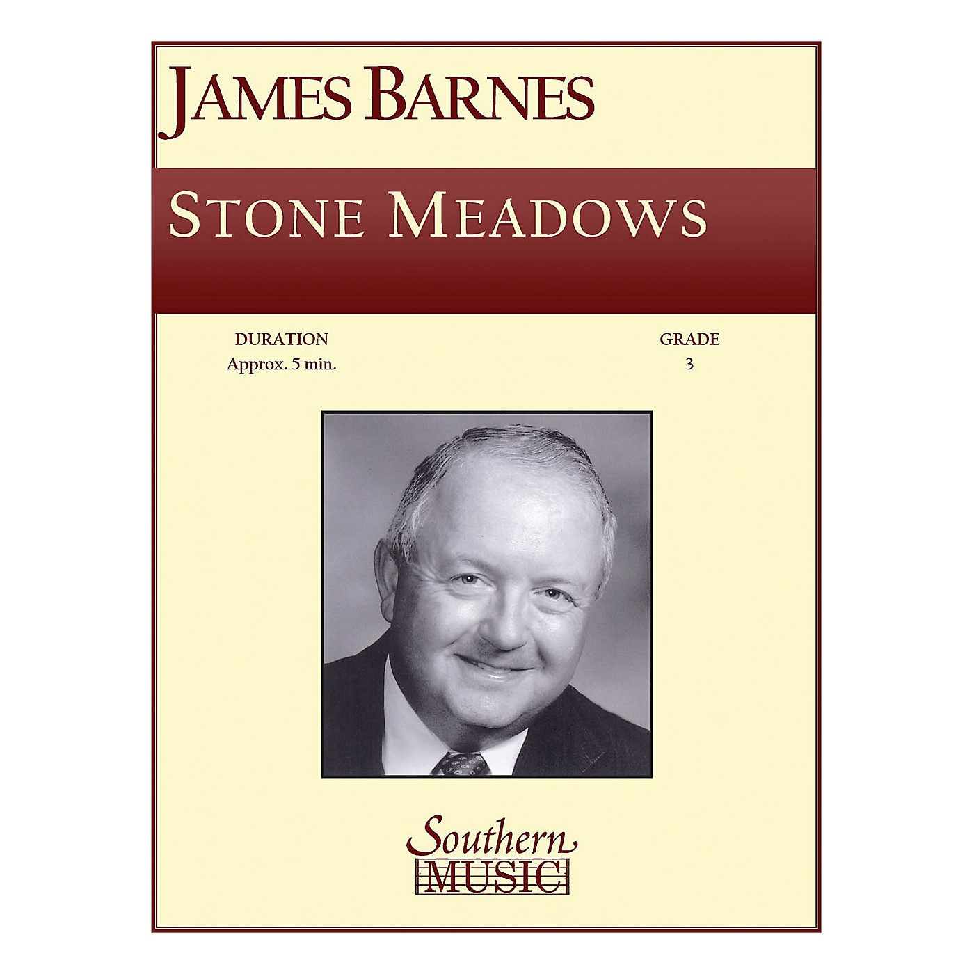 Southern Stone Meadows Concert Band Level 3 Composed by James Barnes thumbnail
