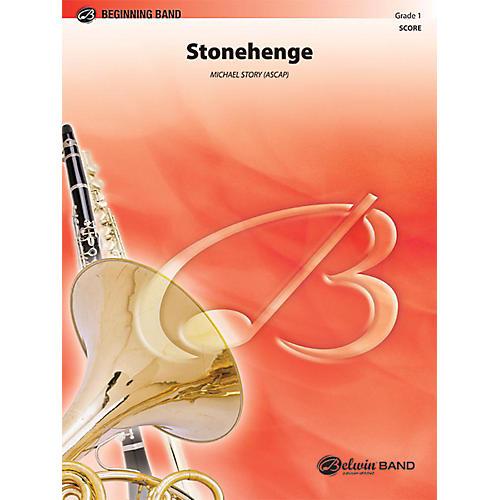 Alfred Stonehenge Concert Band Grade 1 Set thumbnail