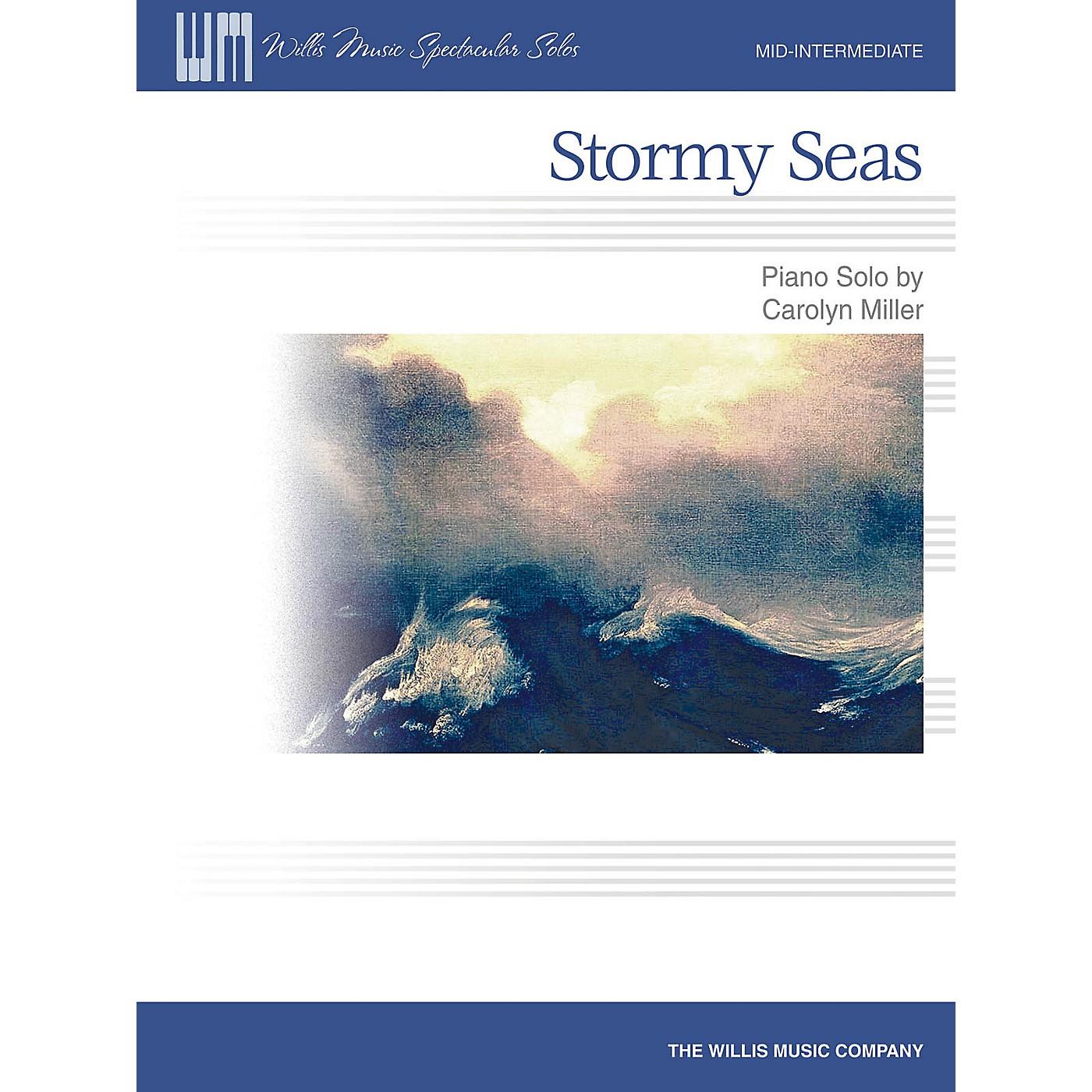 Willis Music Stormy Seas (Mid-Inter Level) Willis Series by Carolyn Miller thumbnail