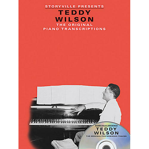 Music Sales Storyville Presents Teddy Wilson Artist Transcriptions Series Softcover with CD Performed by Teddy Wilson thumbnail