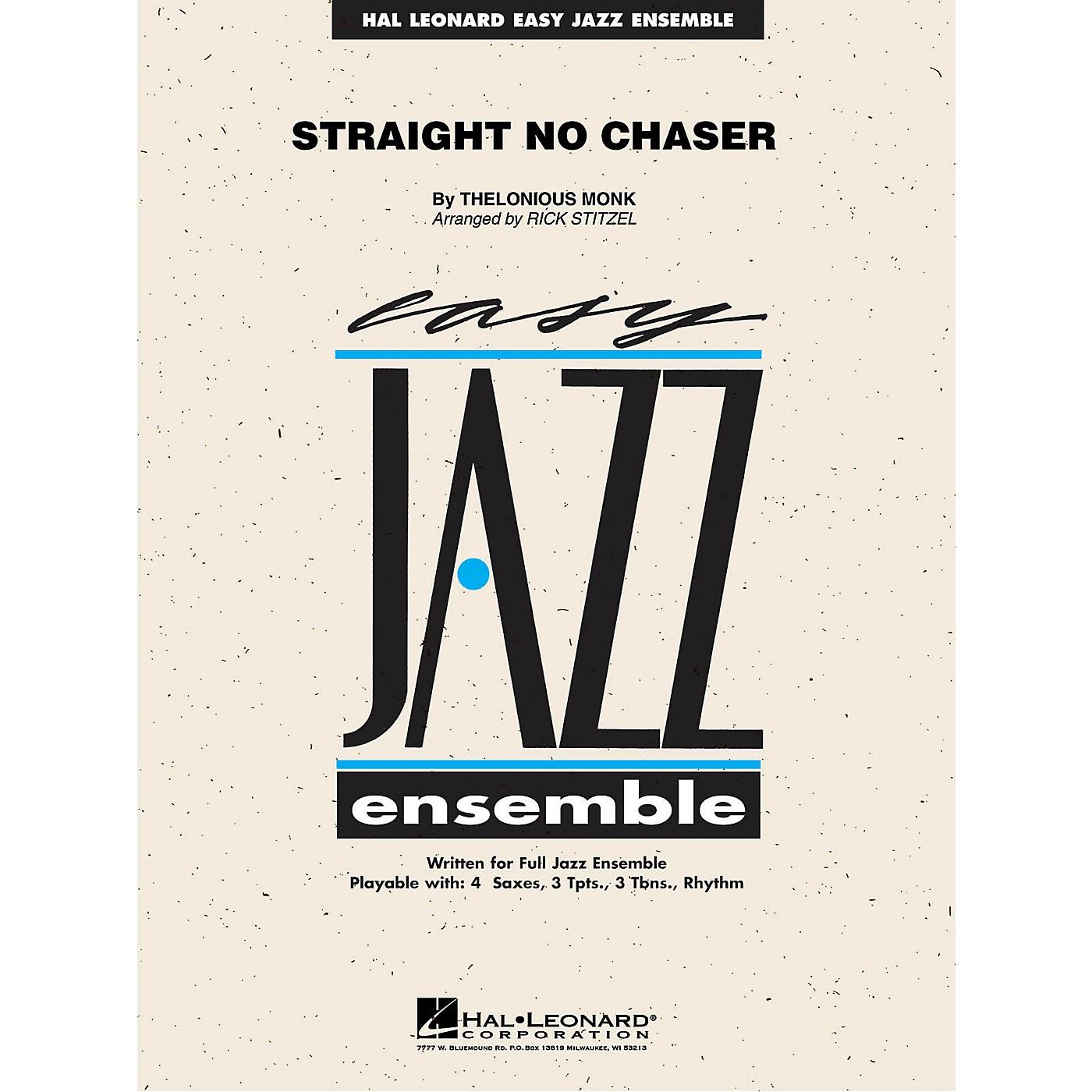 Hal Leonard Straight No Chaser Jazz Band Level 2 Arranged by Rick Stitzel thumbnail