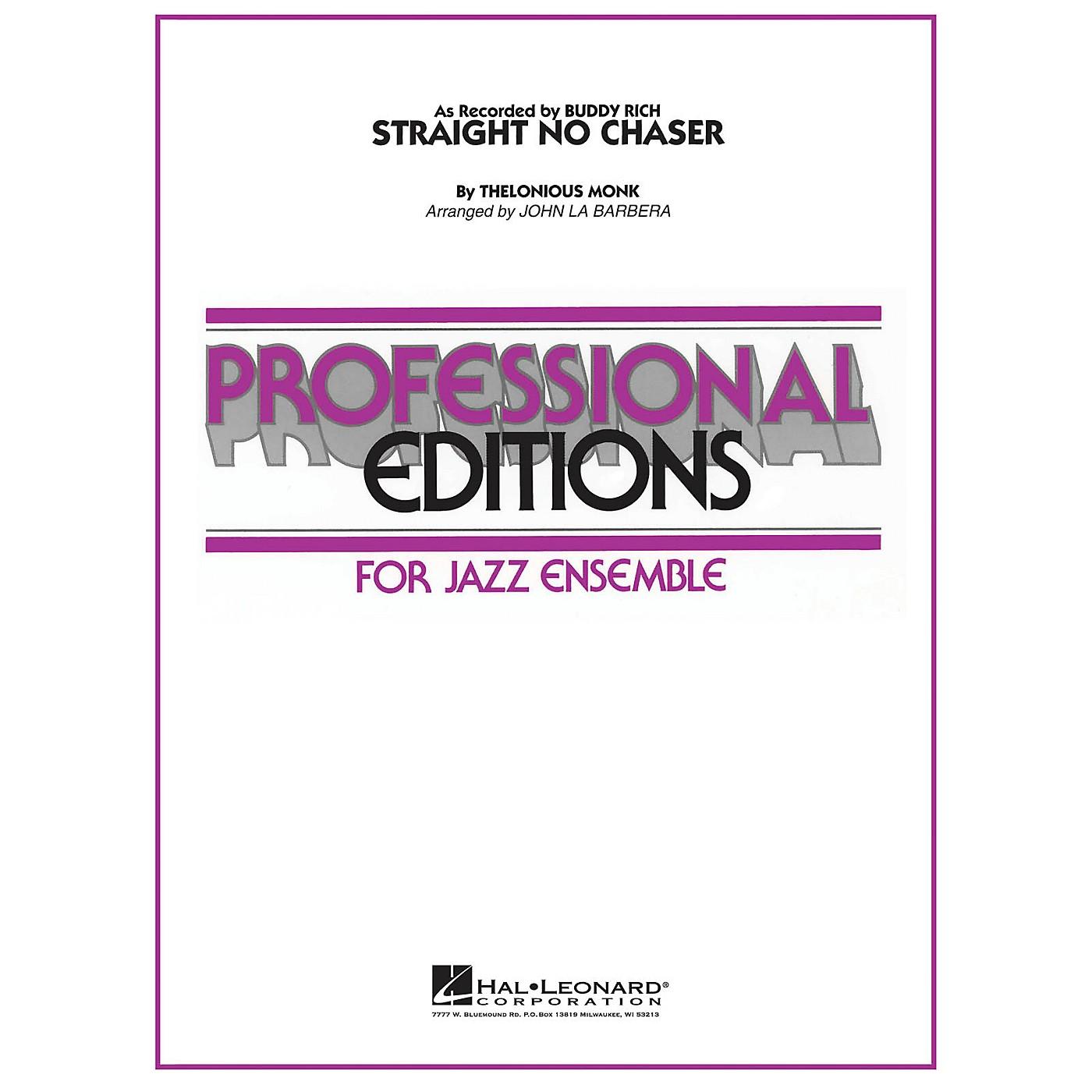 Hal Leonard Straight No Chaser Jazz Band Level 5-6 Arranged by John La Barbera thumbnail