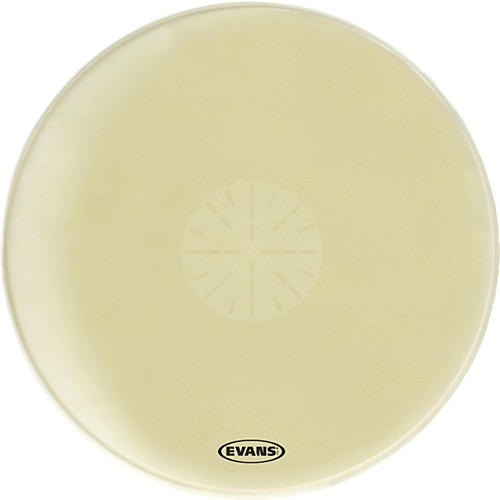 Evans Strata 1400 Orchestral-Bass Drumhead with Power Center Dot thumbnail