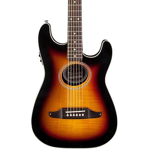 Fender Stratacoustic Premier Flame Maple Acoustic-Electric Guitar-thumbnail