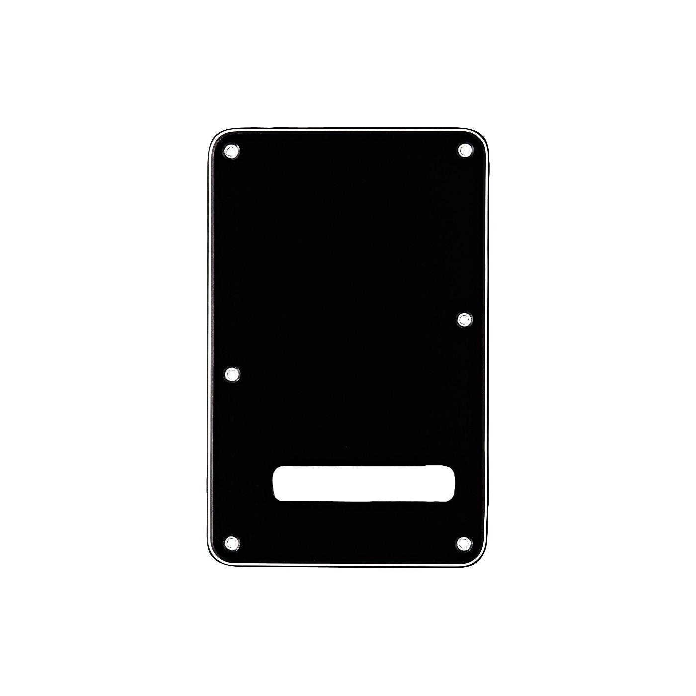 Fender Stratocaster Backplate Black thumbnail