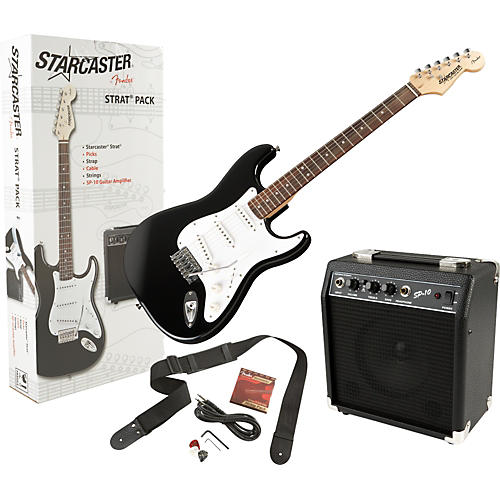 Starcaster by Fender Stratocaster Electric Guitar Value Pack thumbnail
