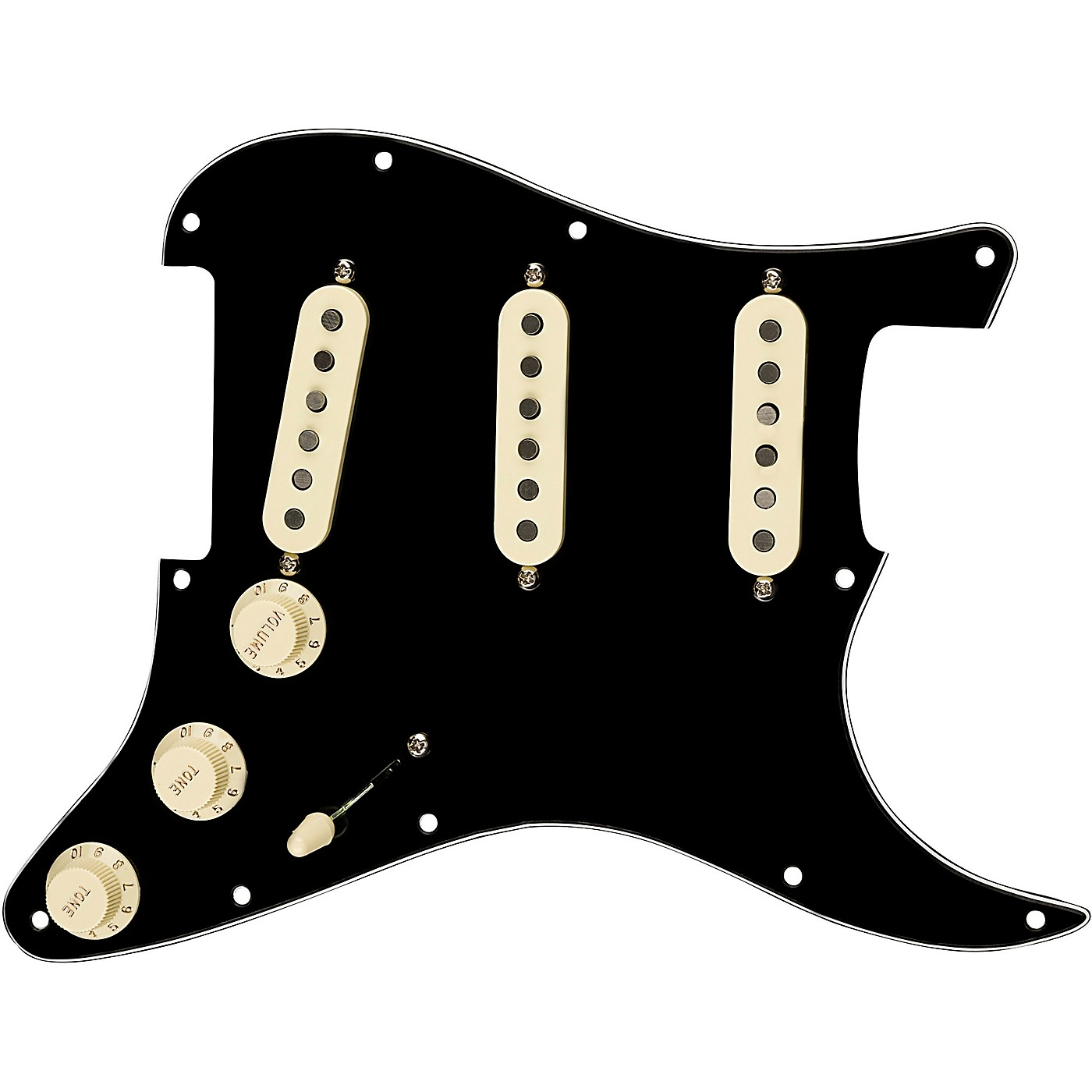 Fender Stratocaster SSS Tex Mex Pre-Wired Pickguard thumbnail