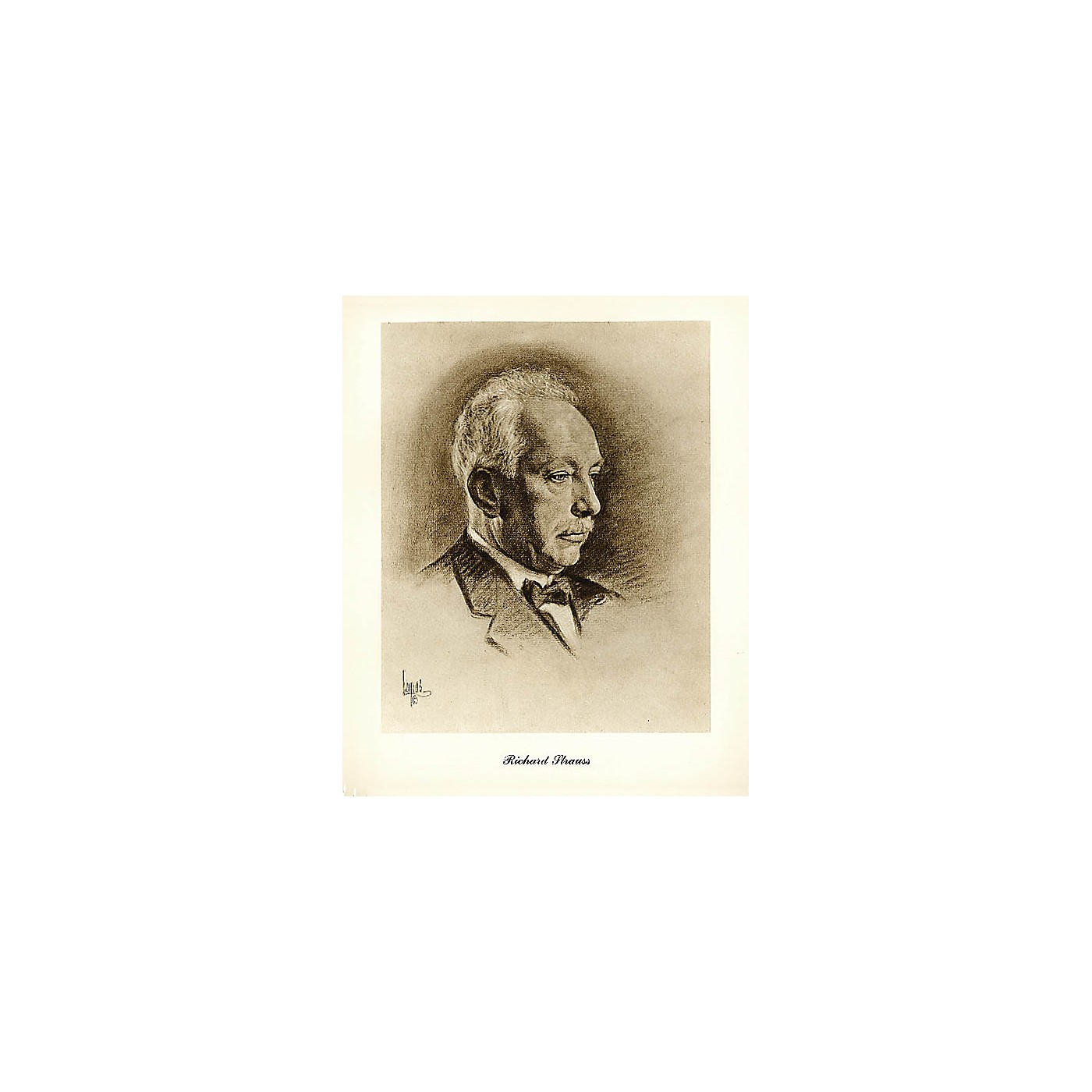 Music Sales Strauss (Lupas Large Portrait Poster) Music Sales America Series thumbnail