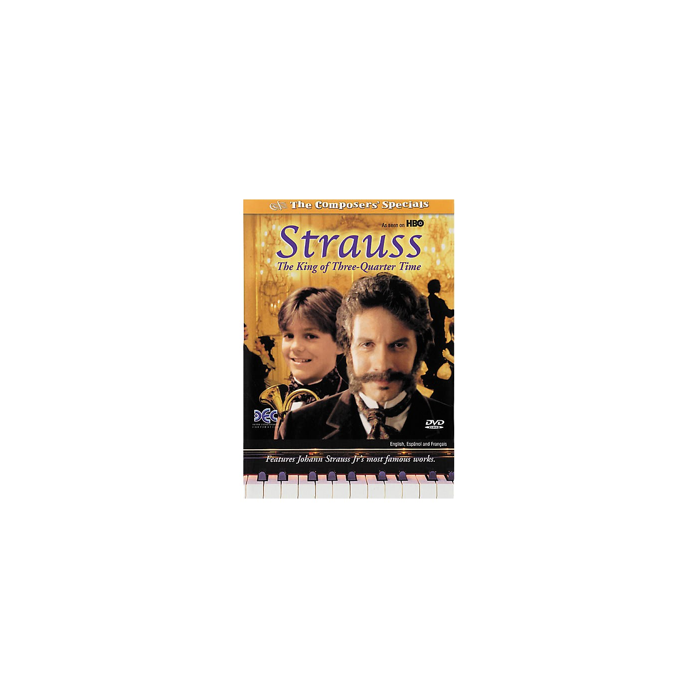 Devine Entertainment Strauss: The King of Three Quarter Time (DVD) thumbnail