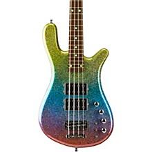 Warwick Streamer $$ 4 Galactic Rainbow Solid High Polish
