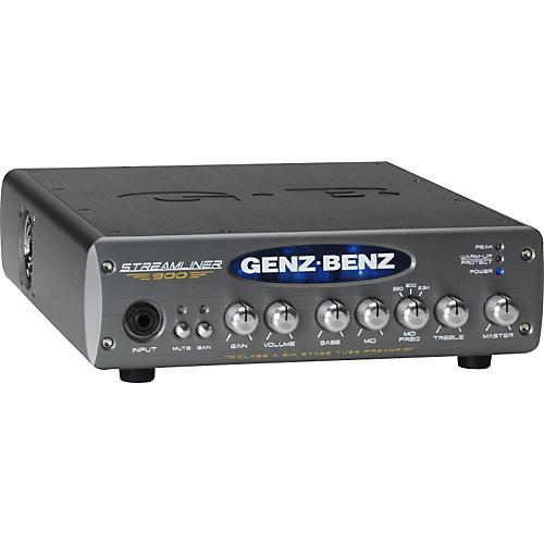 Genz Benz Streamliner 900 STM-900 900W Bass Amp Head thumbnail