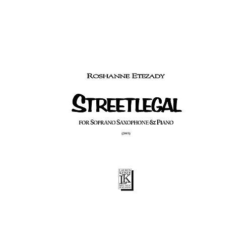 Lauren Keiser Music Publishing Streetlegal (for Soprano Sax and Piano) LKM Music Series thumbnail