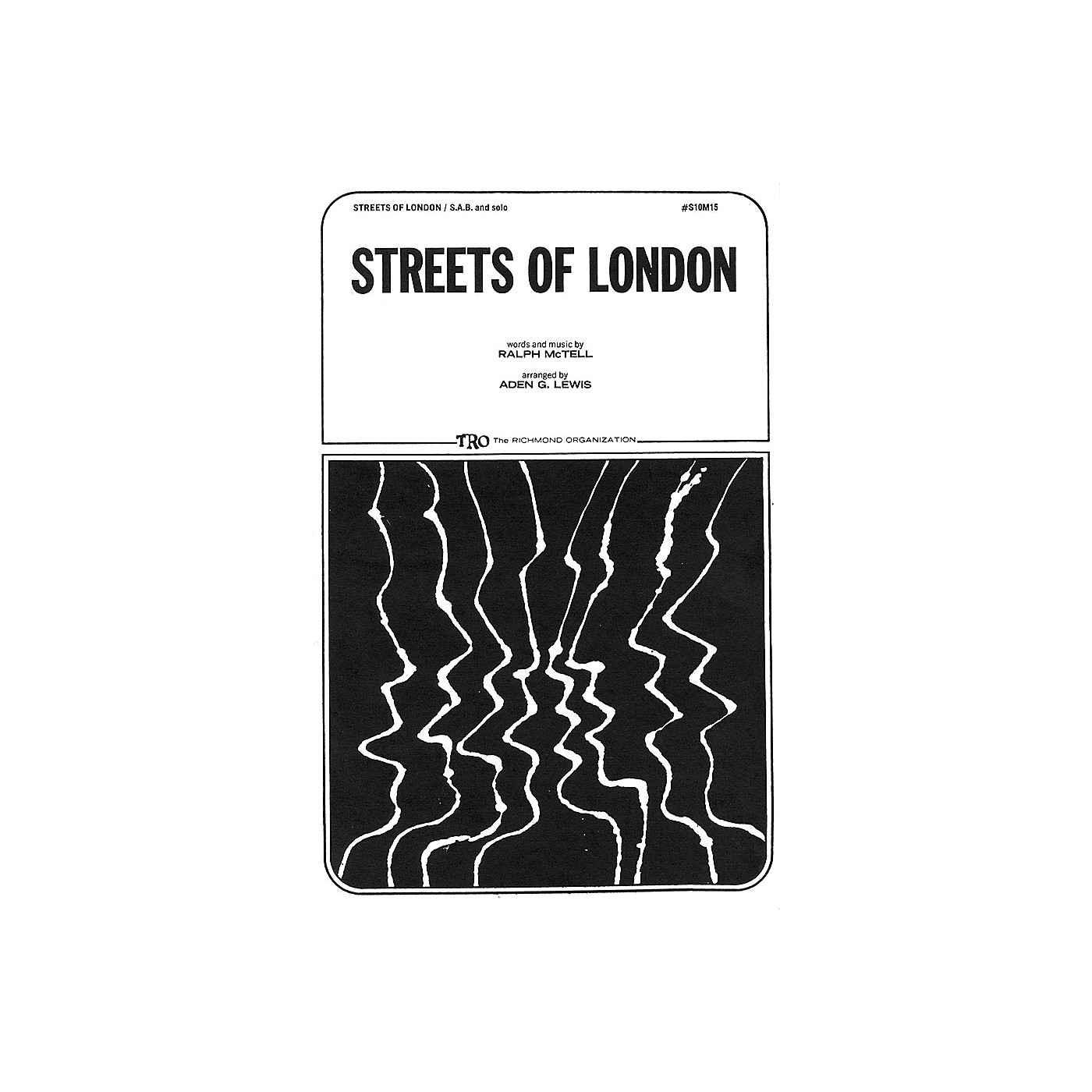 TRO ESSEX Music Group Streets of London Arranged by Aden G. Lewis thumbnail