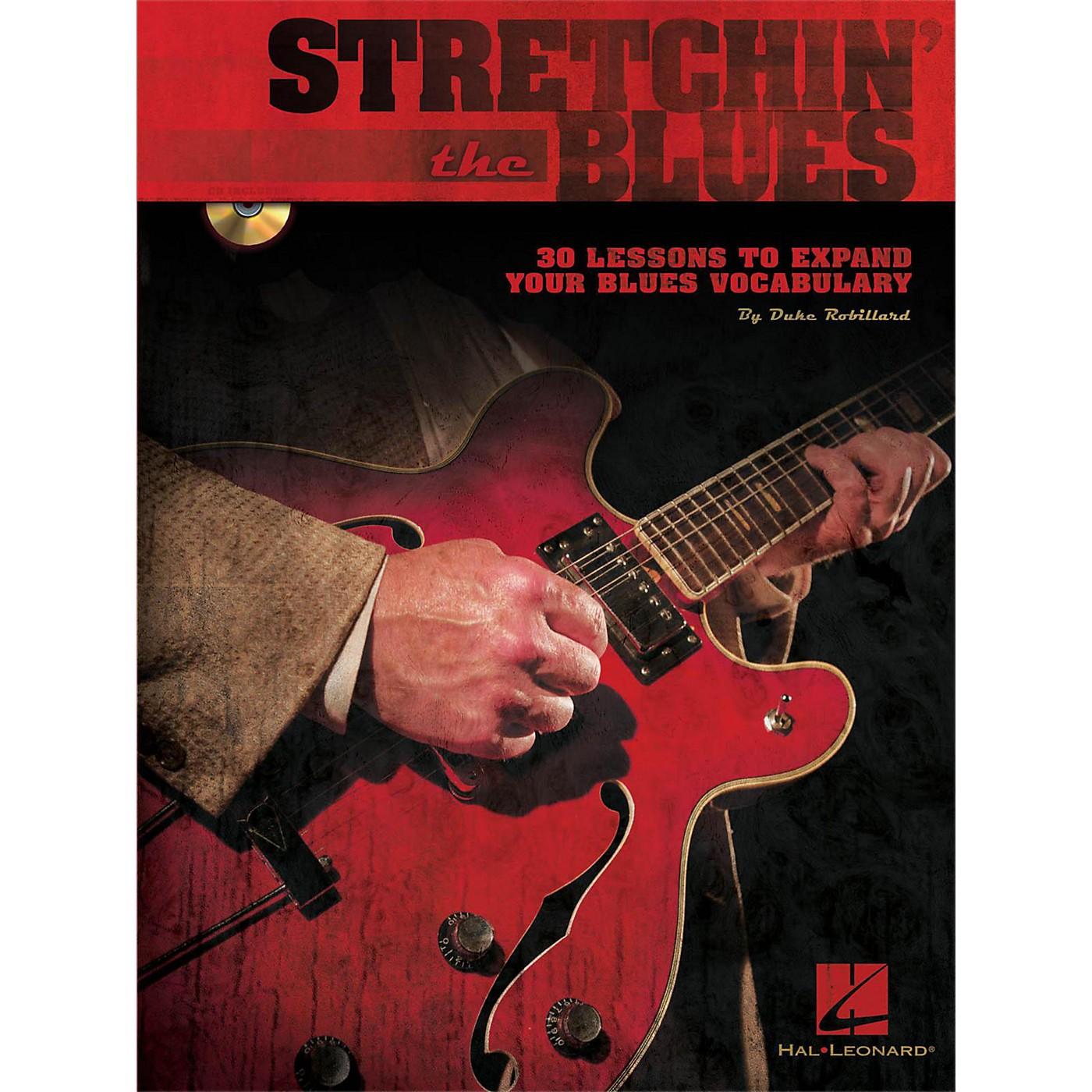 Hal Leonard Stretchin' The Blues - Instructional Guitar Book/CD By Duke Robillard thumbnail