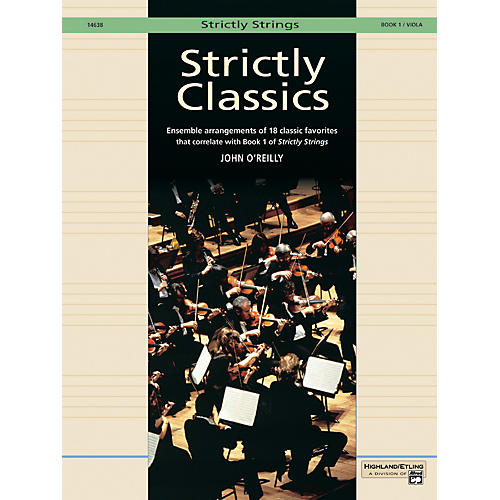 Alfred Strictly Classics Book 1 Viola thumbnail