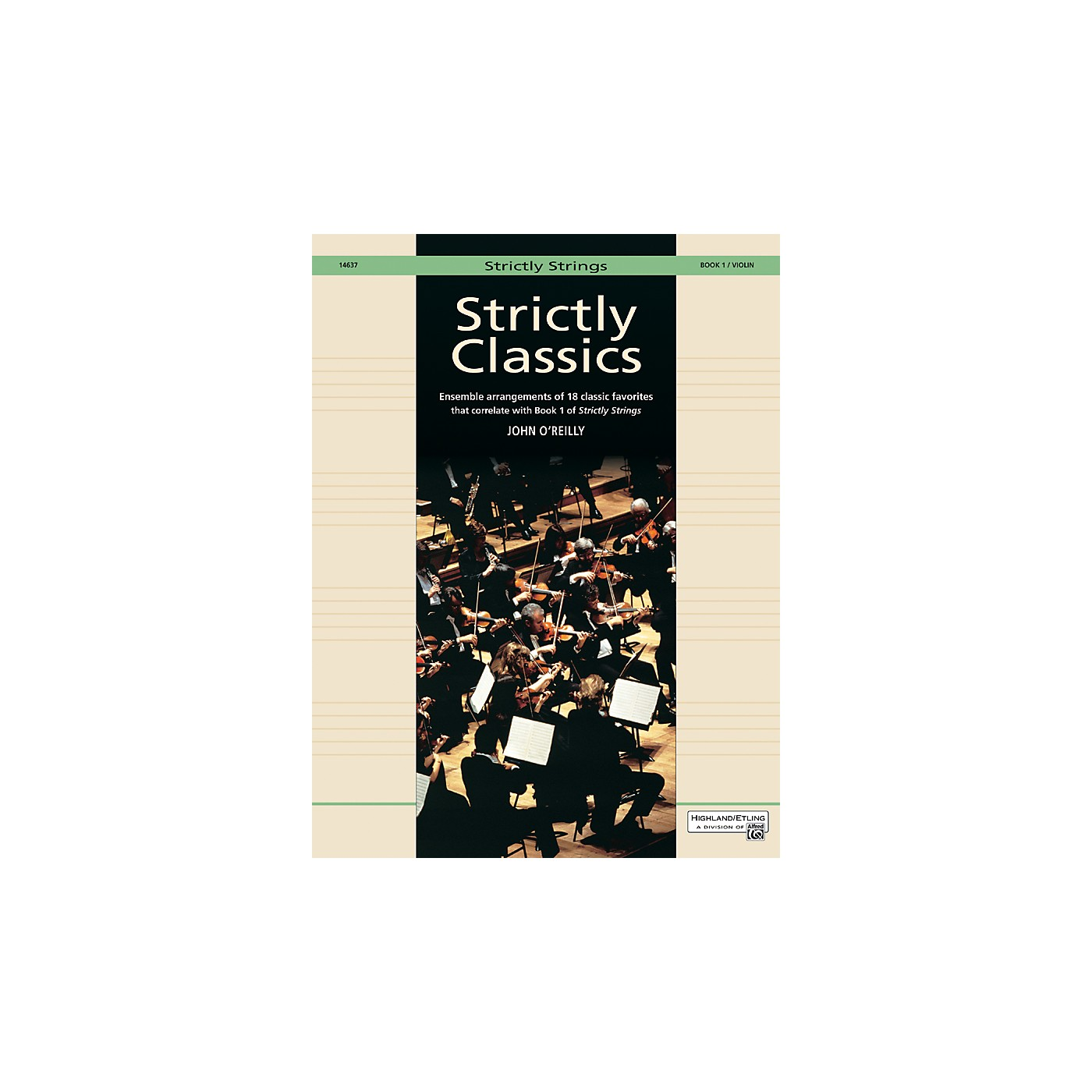 Alfred Strictly Classics Book 1 Violin thumbnail