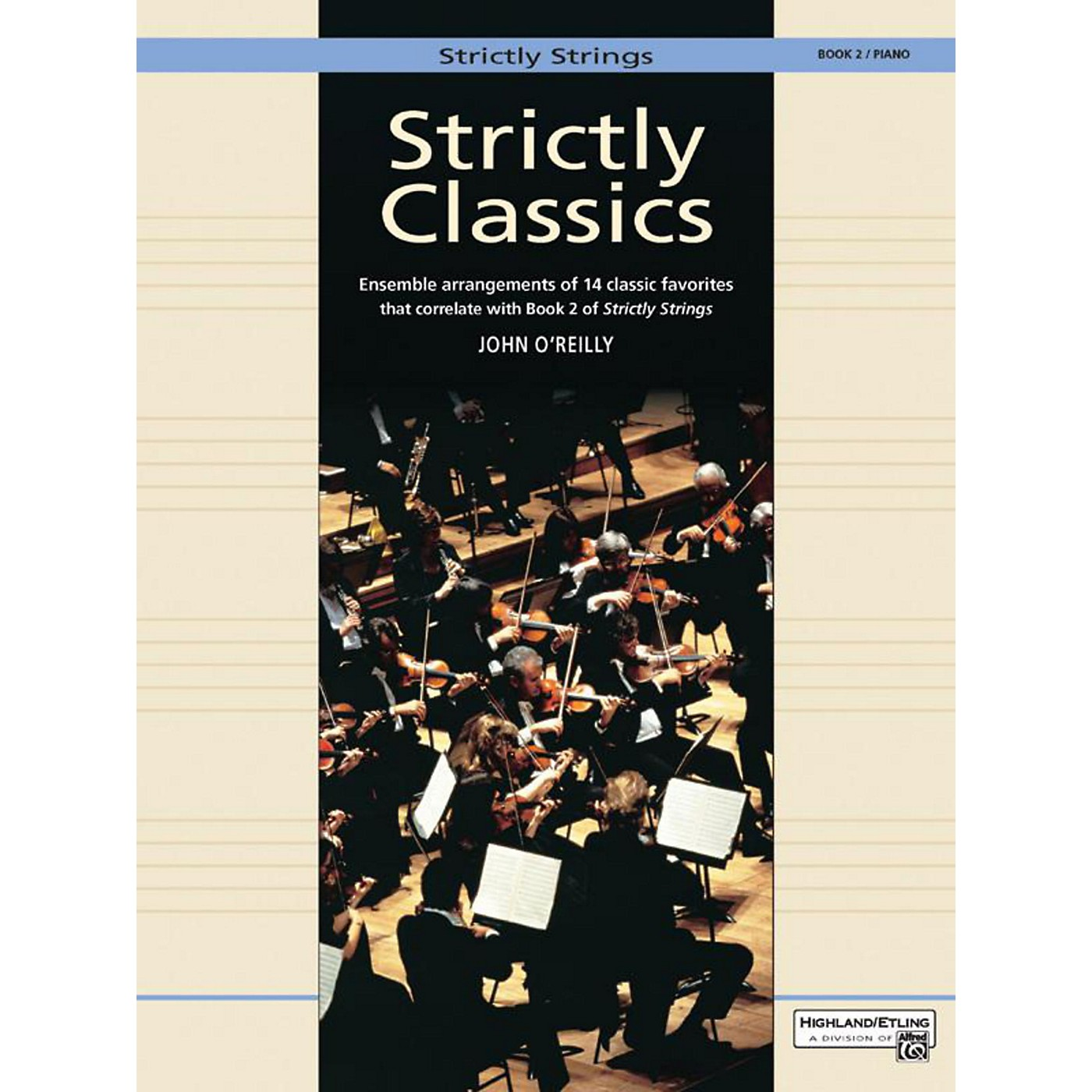 Alfred Strictly Classics Book 2 Piano Acc. thumbnail