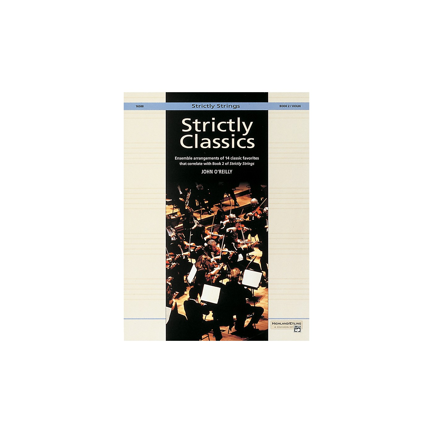 Alfred Strictly Classics Book 2 Violin thumbnail