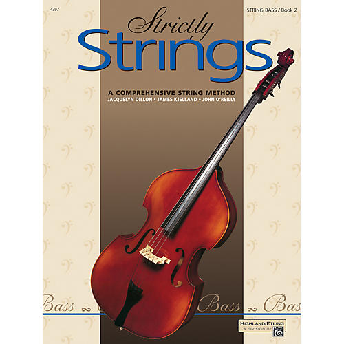 Alfred Strictly Strings Book 2 Bass thumbnail