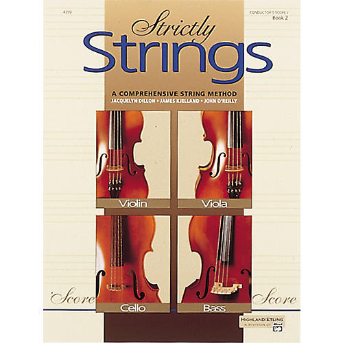 Alfred Strictly Strings Book 2 Conductor's Score thumbnail