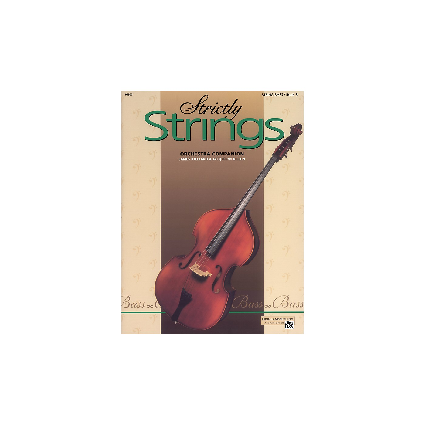 Alfred Strictly Strings Book 3 Bass thumbnail