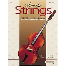 Alfred Strictly Strings Level 1 Bass