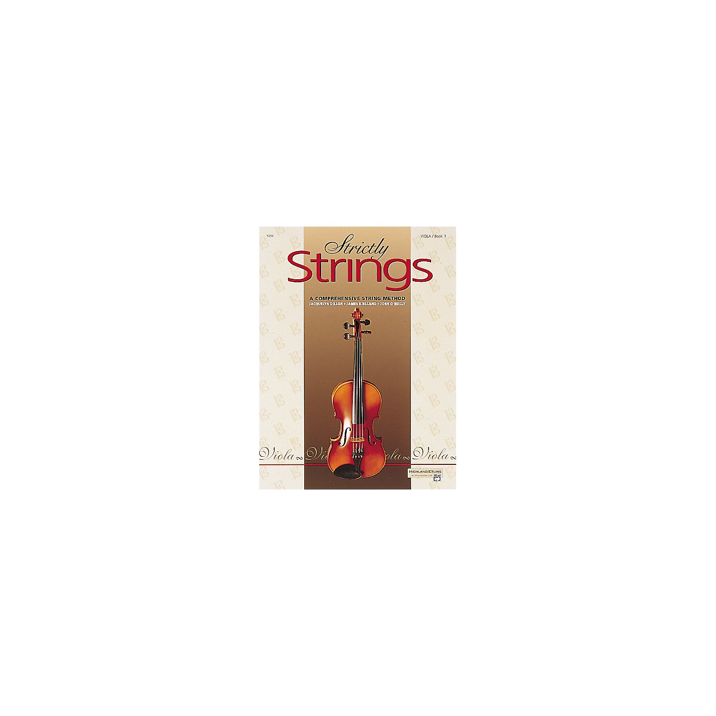 Alfred Strictly Strings Level 1 Viola thumbnail