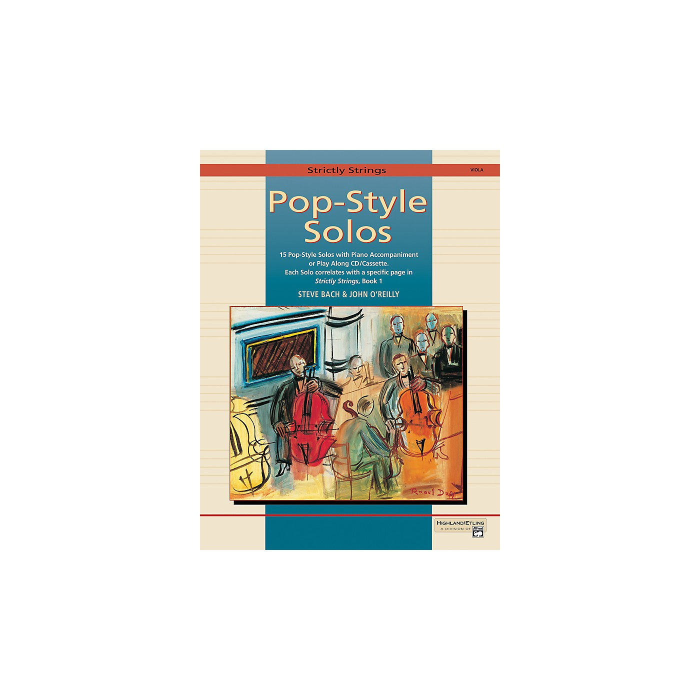 Alfred Strictly Strings Pop-Style Solos Viola Book Only thumbnail