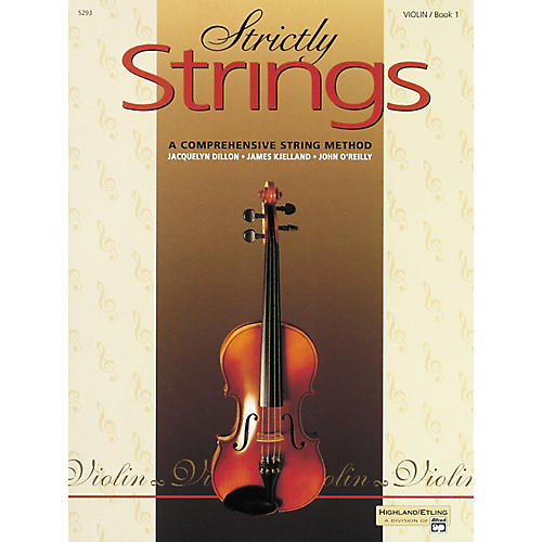 Alfred Strictly Strings Violin Book 1 thumbnail
