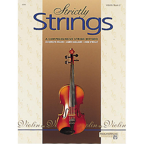 Alfred Strictly Strings Violin Book 2 thumbnail