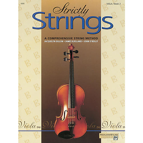 Alfred Strictly Strings for Viola, Book 2 thumbnail