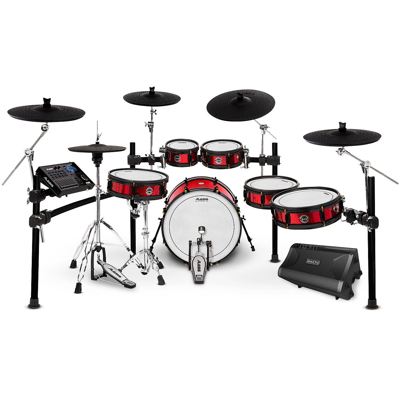 Alesis Strike Pro SE Electronic Drum Set and Simmons DA2110 Drum Set Monitor thumbnail