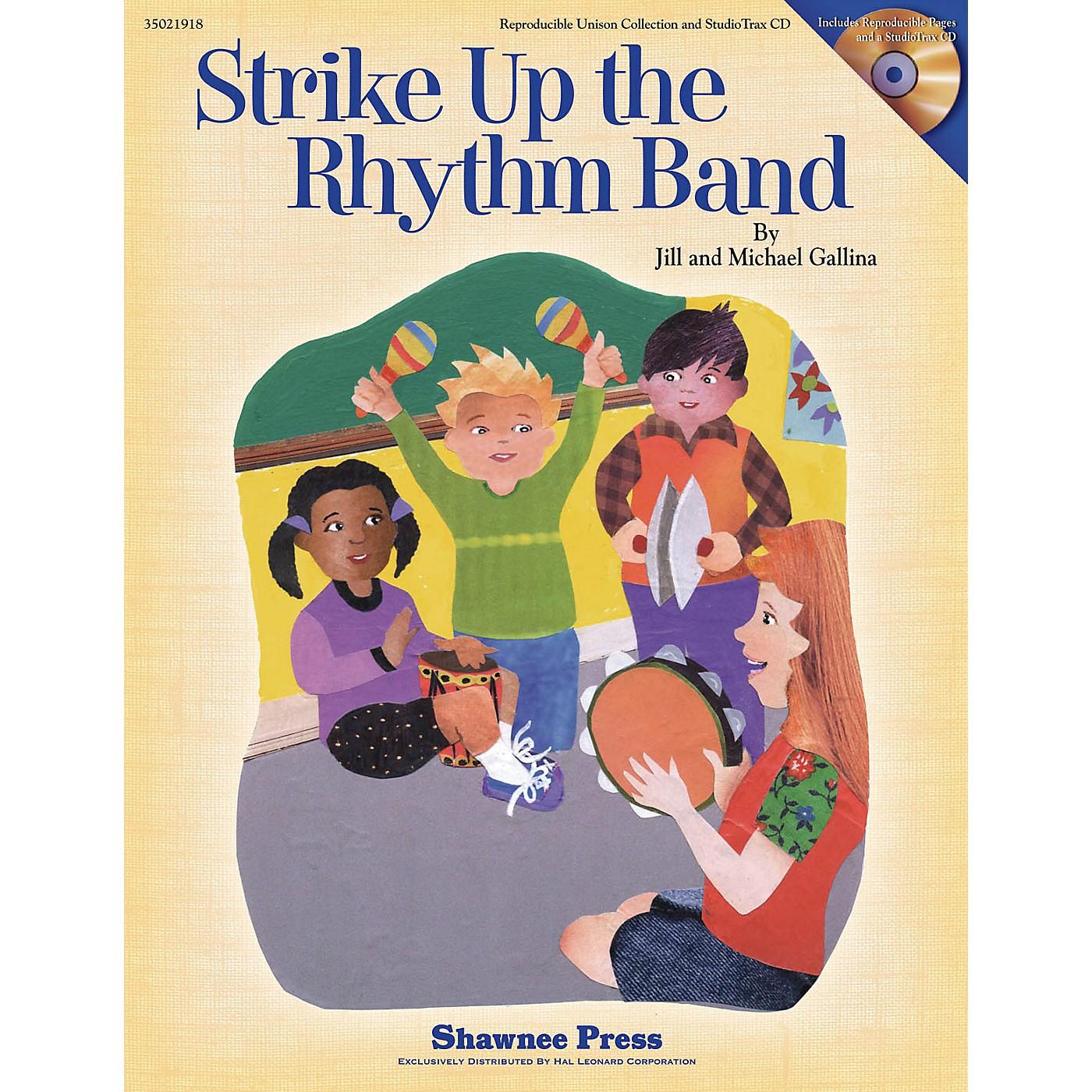 Shawnee Press Strike Up the Rhythm Band CLASSRM KIT Composed by Jill Gallina thumbnail