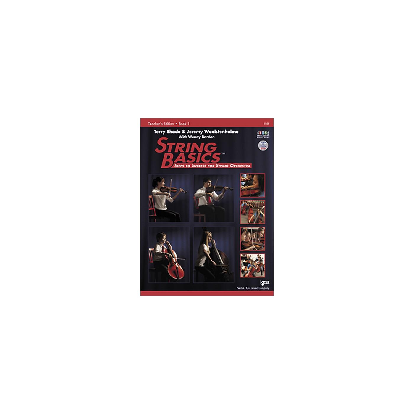 KJOS String Basics Book 1 - Teacher Book thumbnail