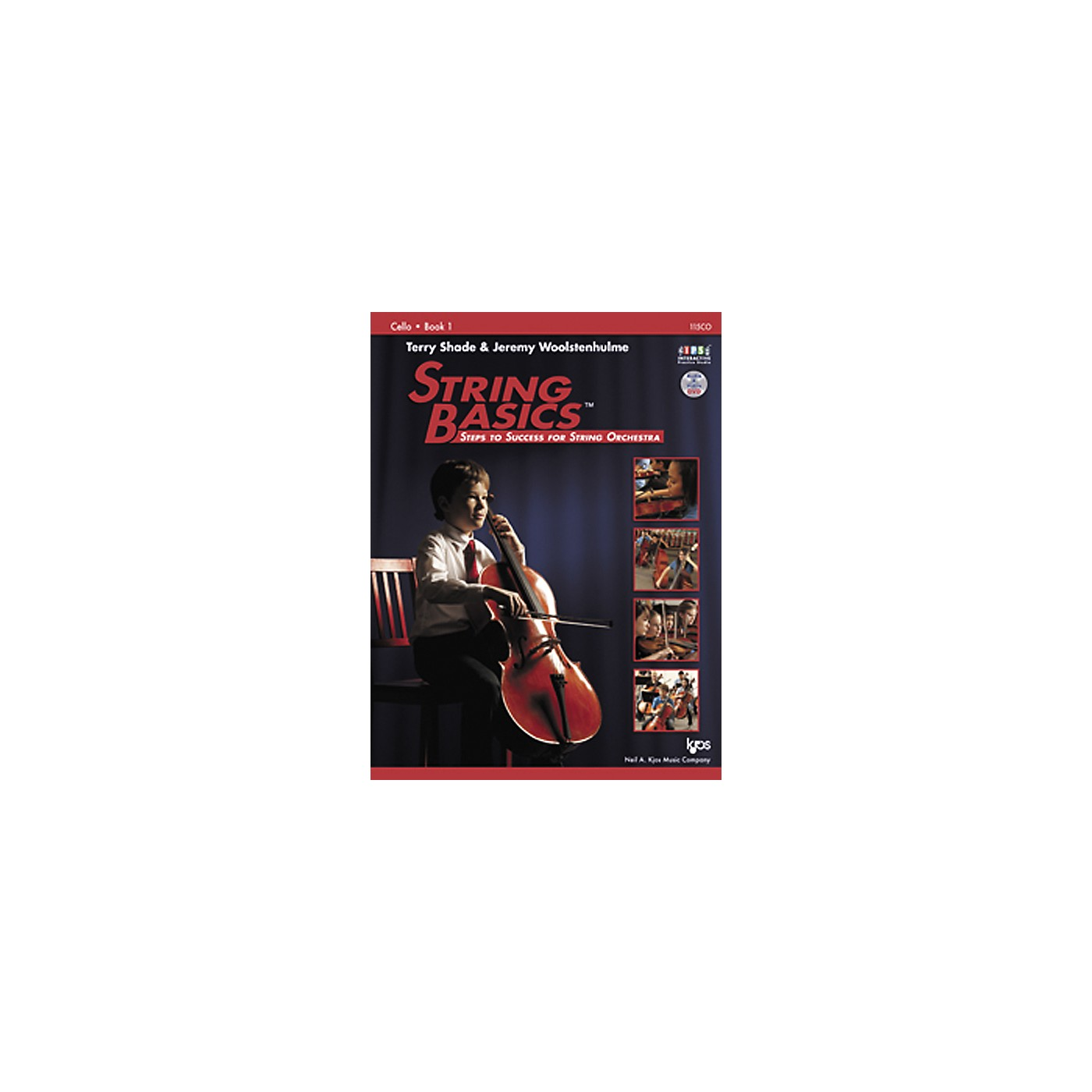 KJOS String Basics Book 1 for Cello thumbnail