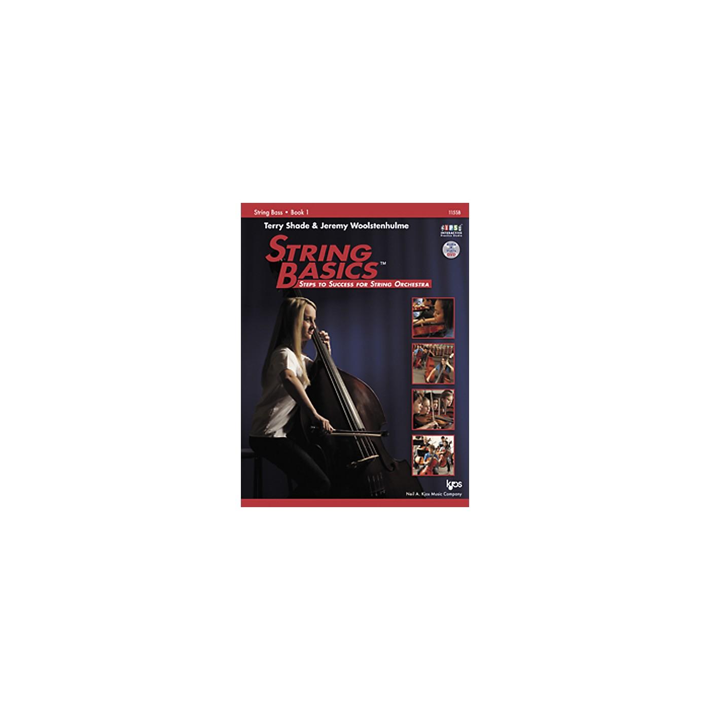 KJOS String Basics Book 1 for String Bass thumbnail