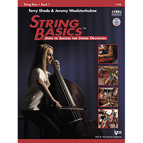 KJOS String Basics Book 1 for String Bass thumbnail