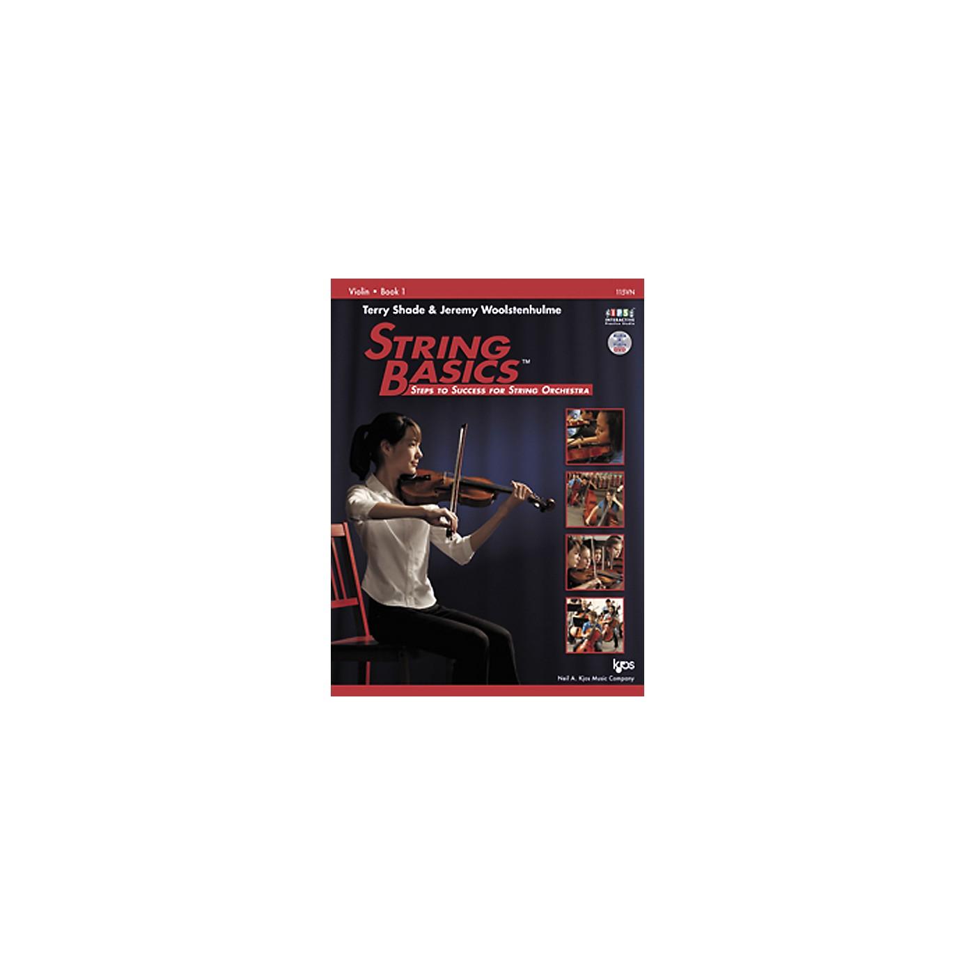 KJOS String Basics Book 1 for Violin thumbnail
