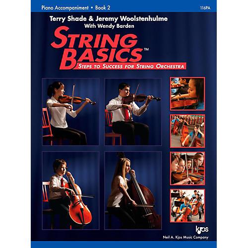 KJOS String Basics Book 2 - Piano Accompaniment thumbnail