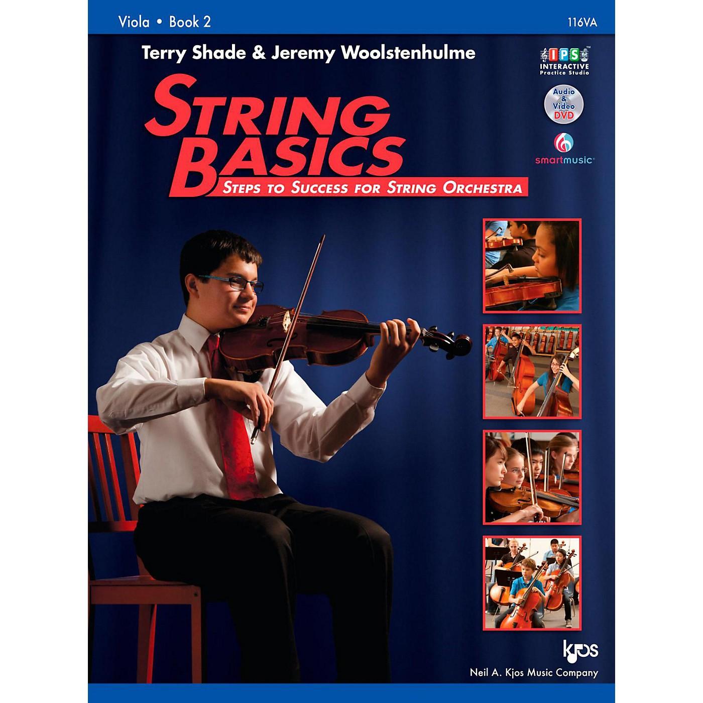 KJOS String Basics Book 2 - Viola thumbnail