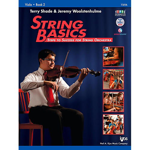 KJOS String Basics Book 2 - Viola thumbnail