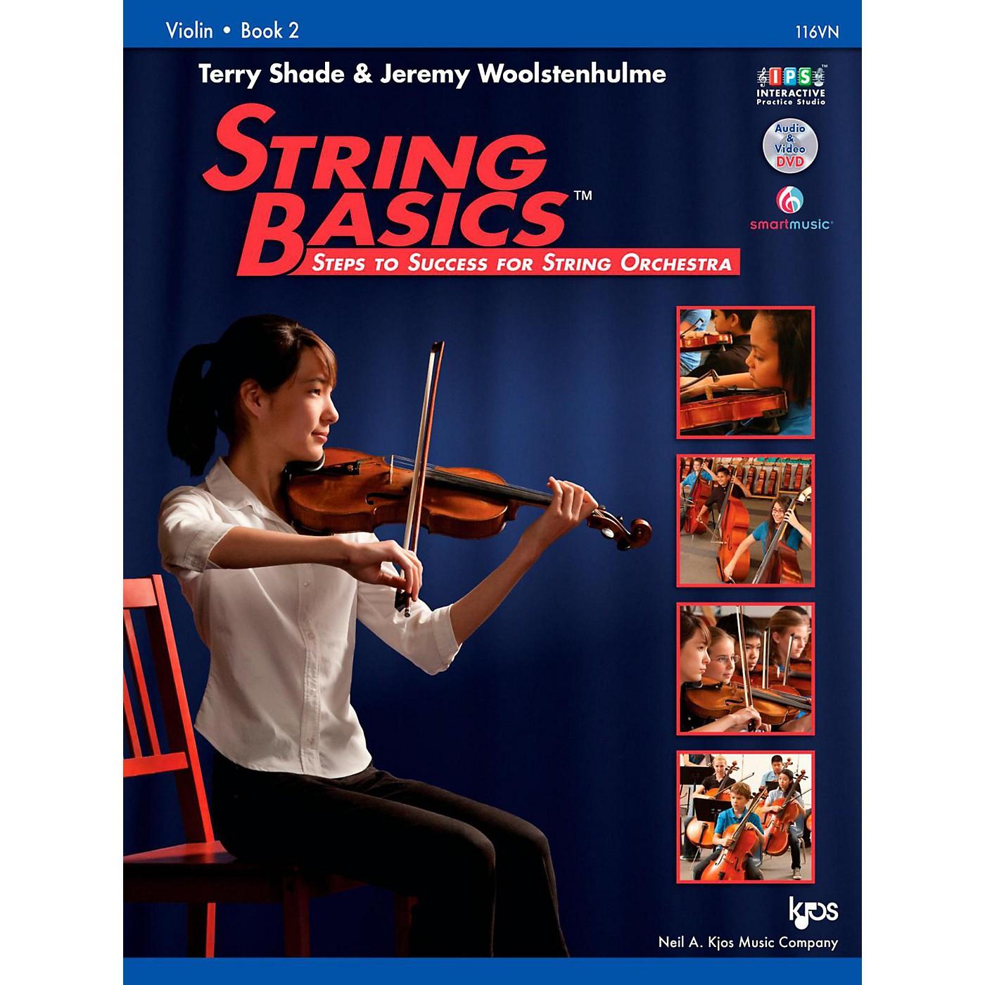 KJOS String Basics Book 2 - Violin thumbnail