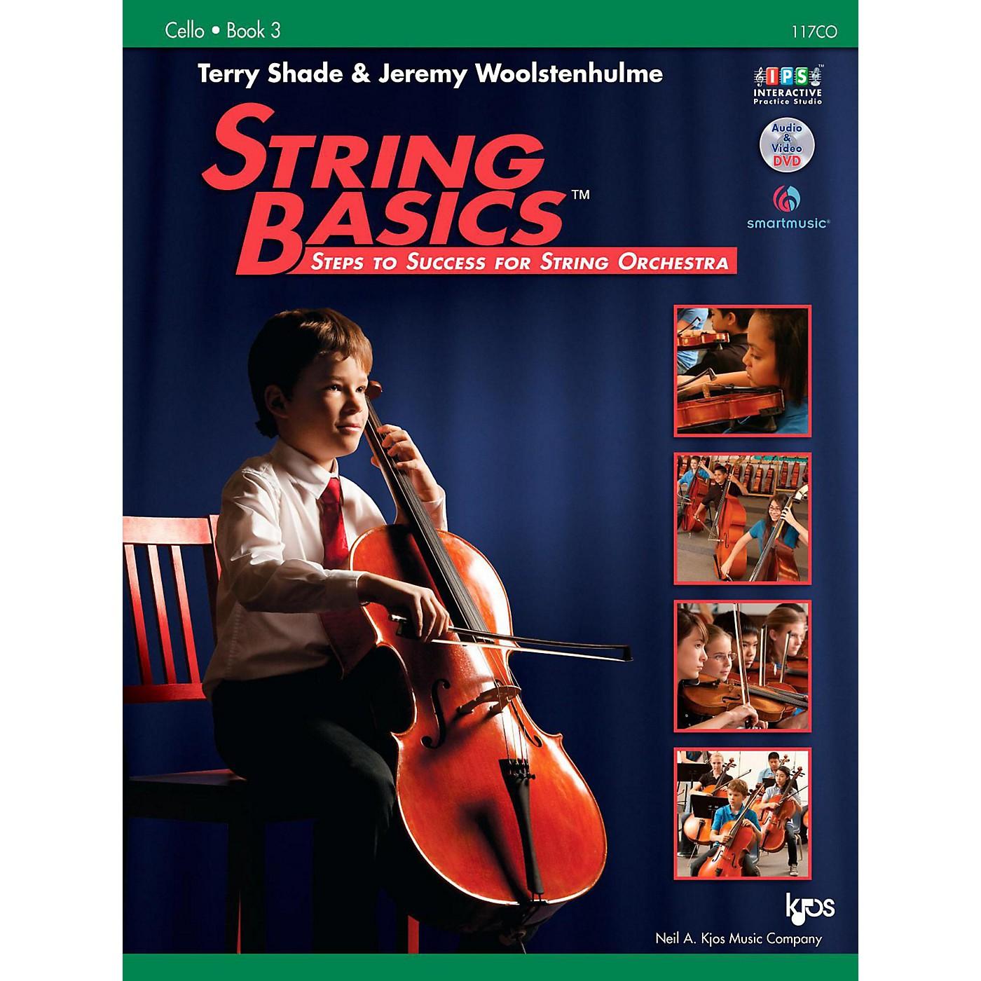 KJOS String Basics Book 3 - Cello thumbnail