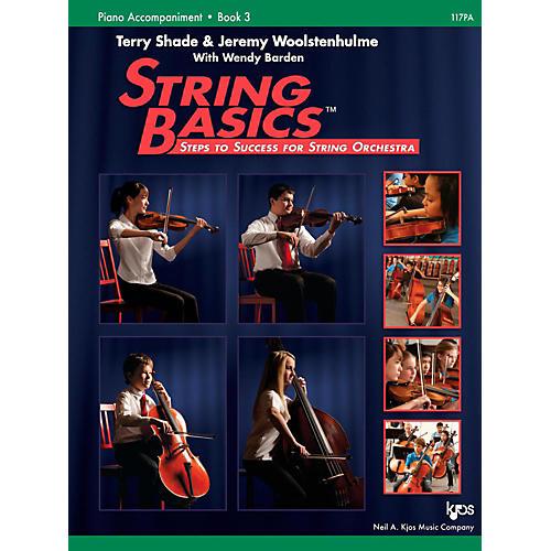 KJOS String Basics Book 3 - Piano Accompaniment thumbnail