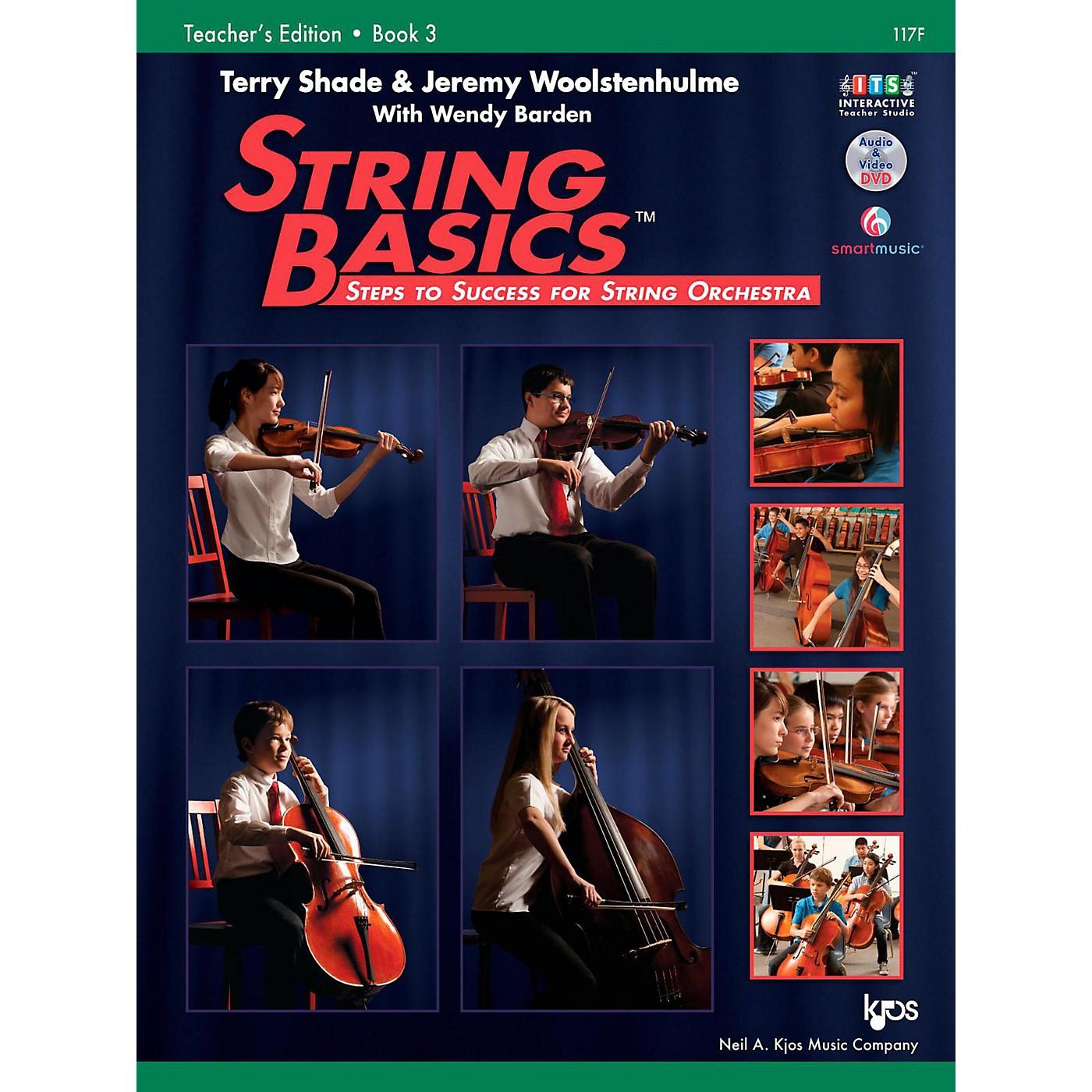 KJOS String Basics Book 3 - Score thumbnail