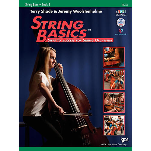 KJOS String Basics Book 3 - String Bass thumbnail