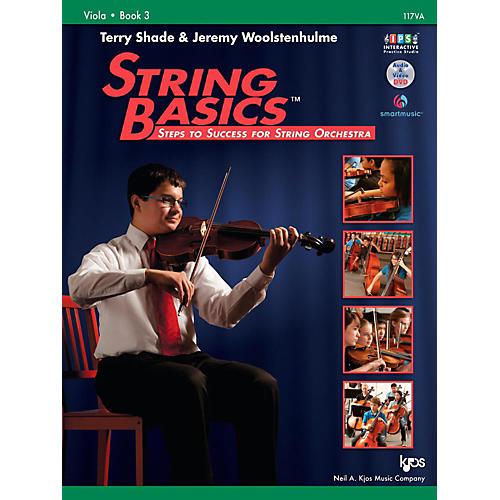 KJOS String Basics Book 3 - Viola thumbnail