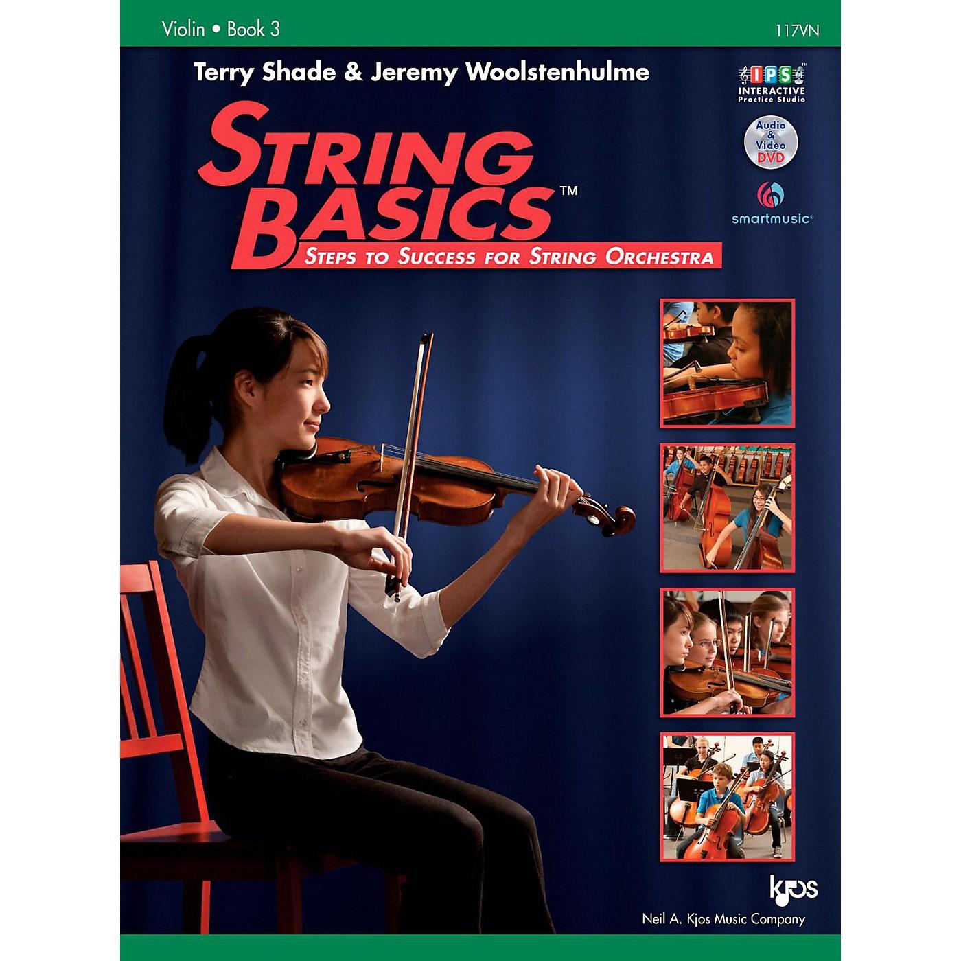 KJOS String Basics Book 3 - Violin thumbnail
