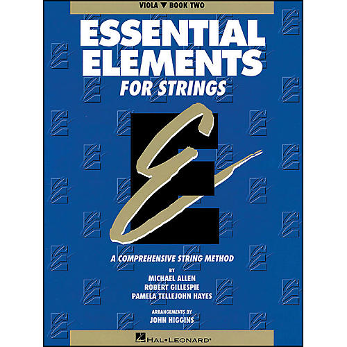 Hal Leonard String Book 2 Viola Essential Elements for Strings-thumbnail